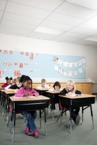 Led verlichting klaslokaal