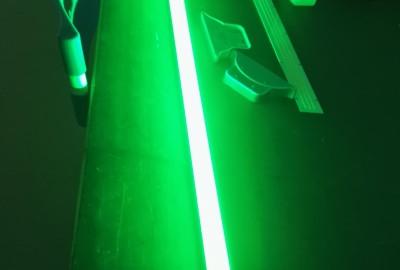 Groene verlichting LED tube 1200mm en 1500mm